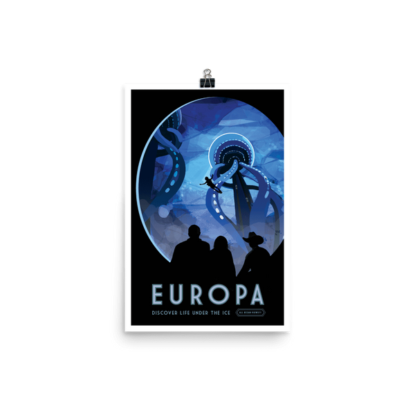 SciDye Europa NASA Visions of the Future Poster Default Title