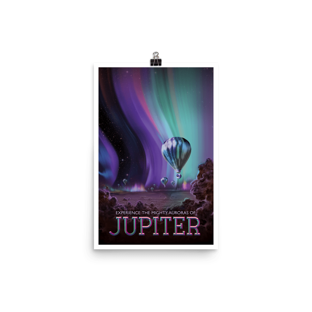 SciDye Jupiter NASA Visions of the Future Poster Default Title