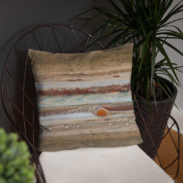 SciDye Jupiters Great Red Spot Pillow