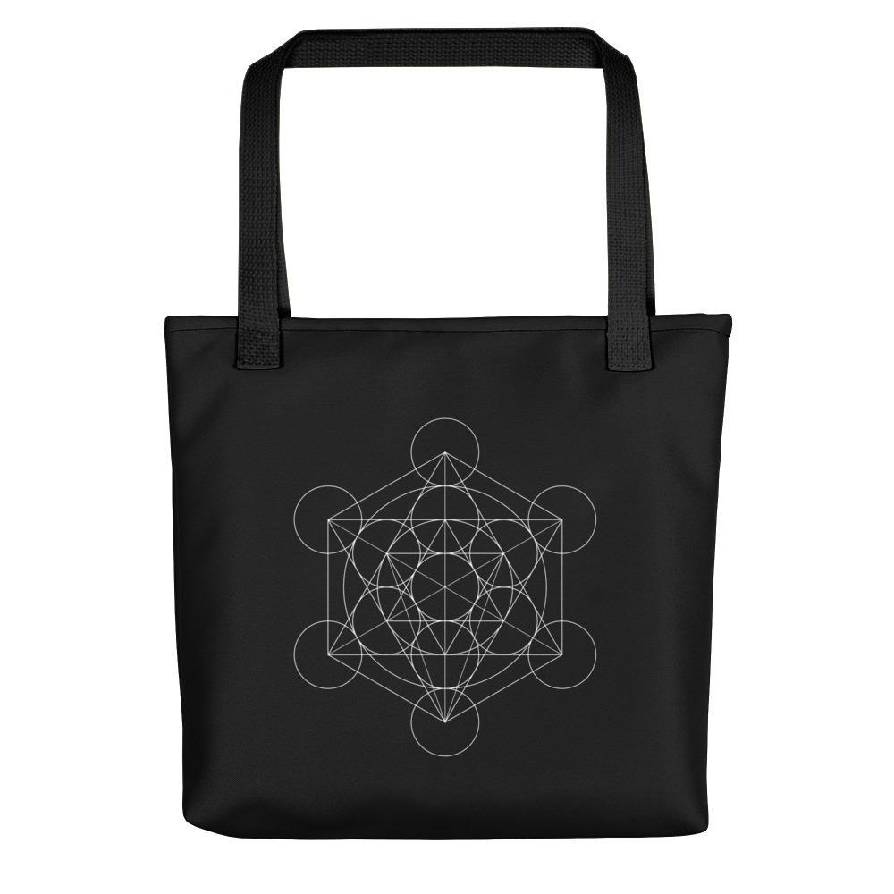 SciDye Metatron's Cube Geometric Tote bag Default Title
