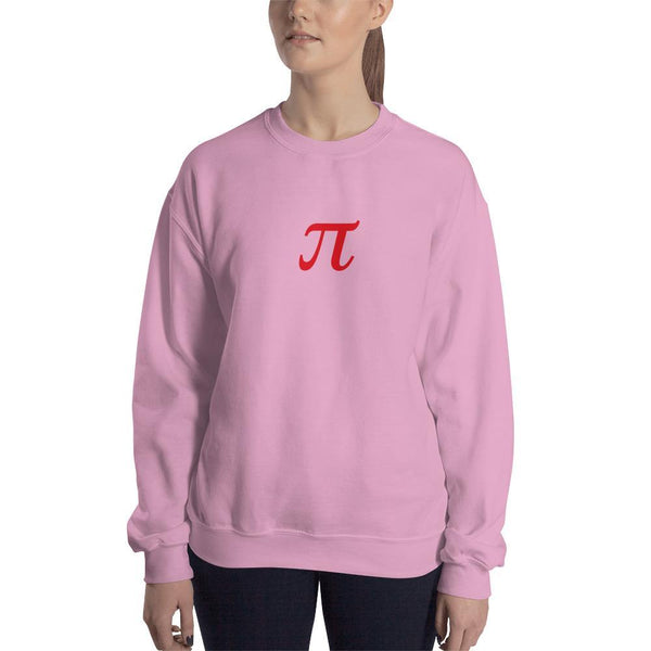 SciDye Pie Symbol Sweatshirt Light Pink / S