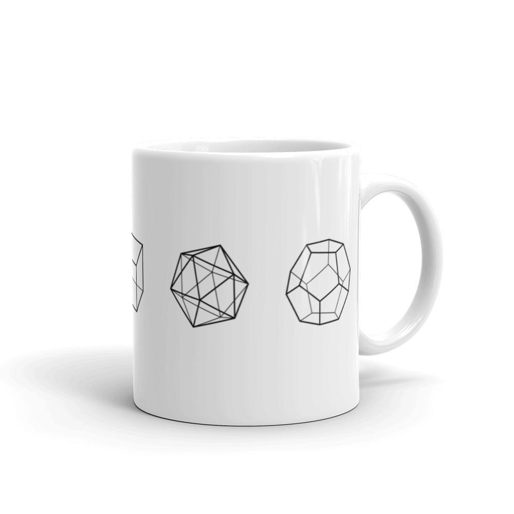 SciDye Platonic Solids Maths Mug Default Title