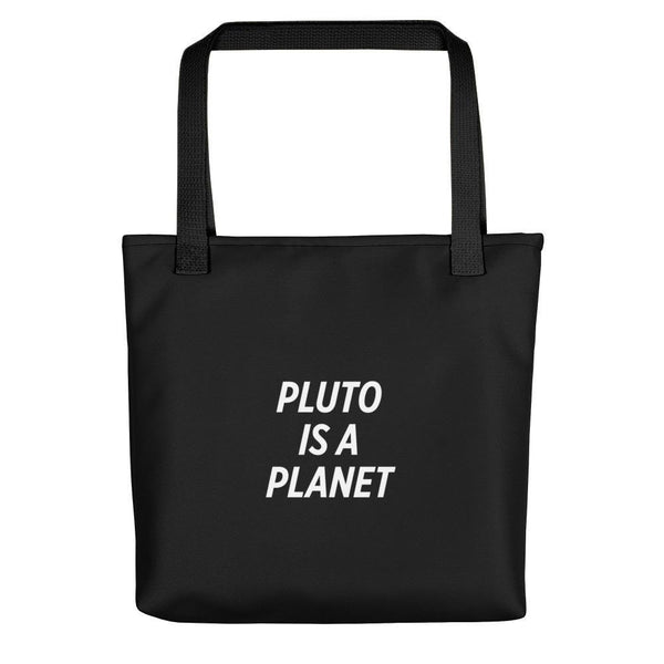 SciDye Pluto is a Planet Tote bag
