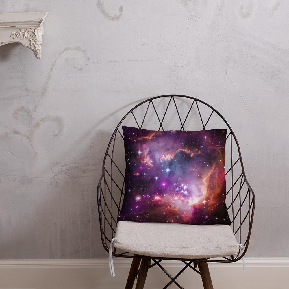 SciDye Purple Star Cluster Cosmic Pillow Default Title