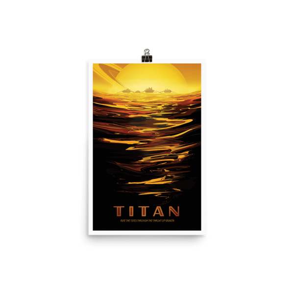 SciDye Titan NASA Visions of the Future Poster Default Title