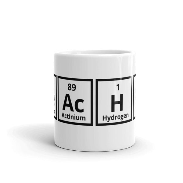 Science Teacher Elements Mug SciDye Default Title