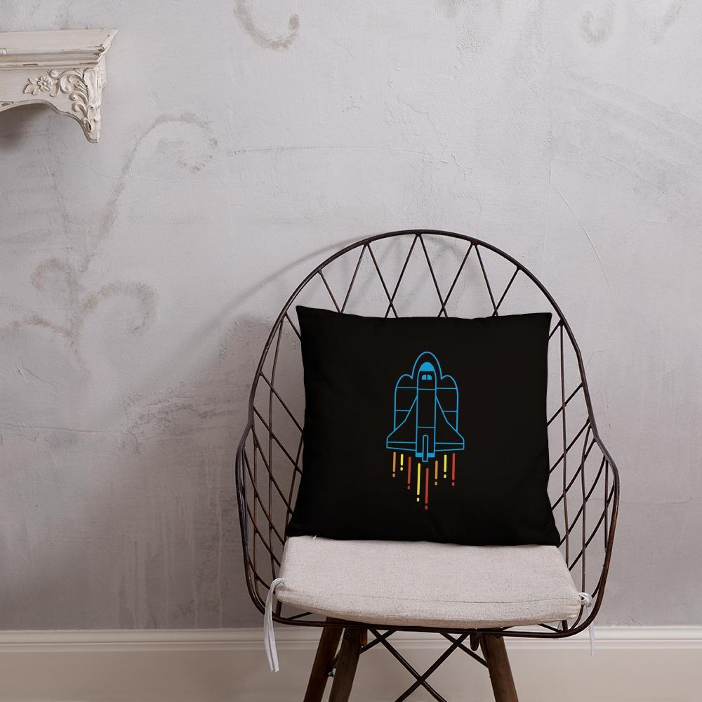 Space Shuttle Rocket Launch Pillow SciDye Default Title
