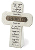 Journey: Resin Desktop Cross with Bronze Title Bar