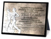 The Goal Small Sculpture Plaque