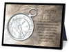 The Compass Small Sculpture Plaque