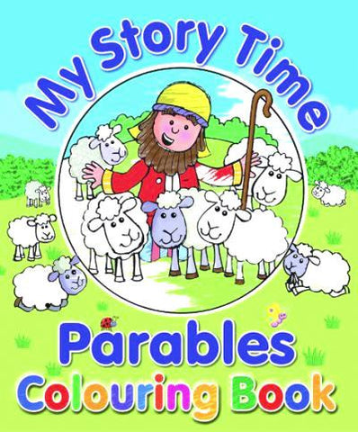 My Story Time Parables Colouring Book Paperback