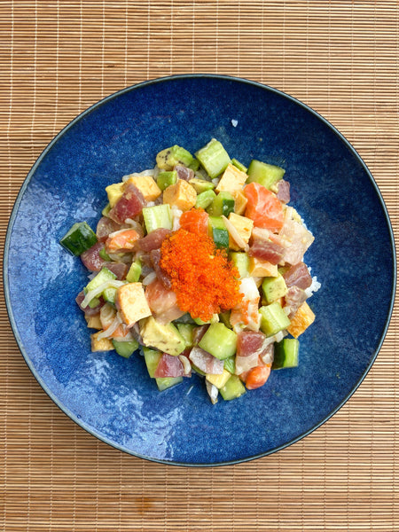 RECIPE: Japanese Poke Bowl