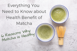 Everything You Need to Know about Health Benefit of Matcha: 6 Reasons Why Matcha is Healthy