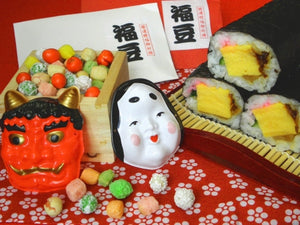 Setsubun (節分): The Japanese Festival of Bean Throwing and Sushi Rolling
