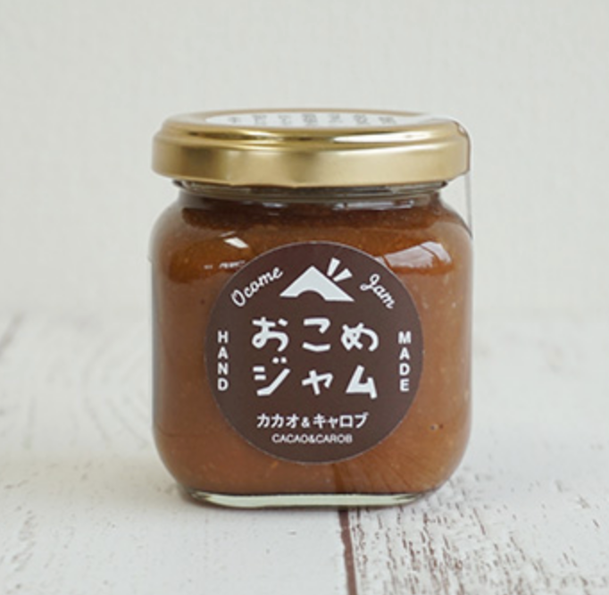 Brown Rice Jam with Carob and Cacao