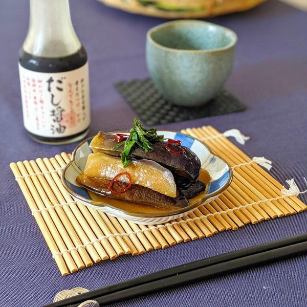 Miwako's sweet and sour simmered eggplant