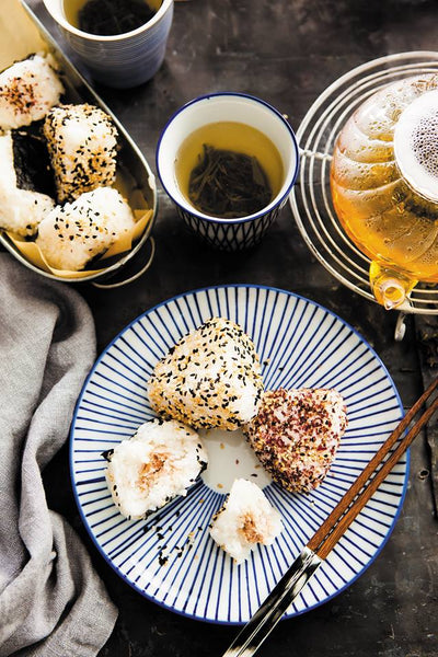 Fused by Fiona Uyema's Japanese cookbook recipe for Onigiri with Umeboshi Filling