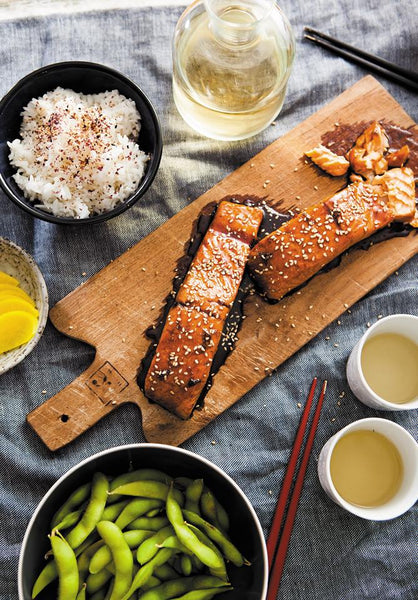 Fused by Fiona's salmon teriyaki recipe for Japanese food