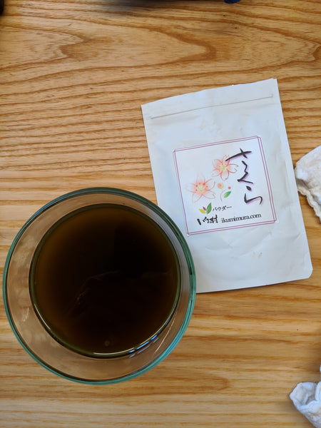 Japanese Sakura Tea