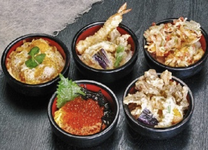 Different Shades of Donburi (Rice Bowl Dishes)
