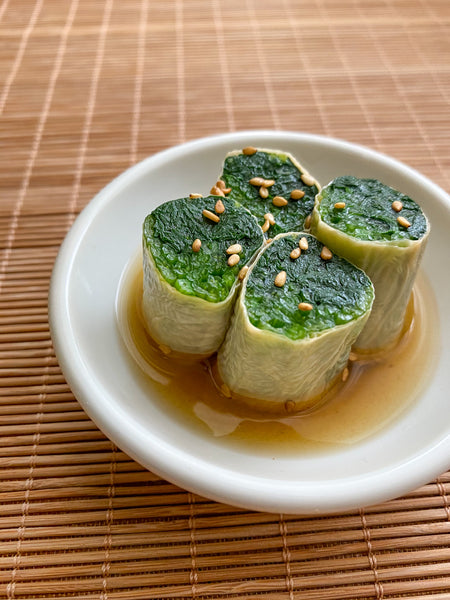 RECIPE: Yuba-maki Spinach Roll