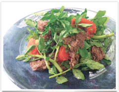 RECIPE: Beef and Watercress Salad with Premium Milky Oyster Sauce
