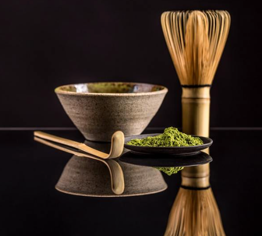 Japanese Green Tea Company Bamboo Whisk (Chasen) and Scoop Set