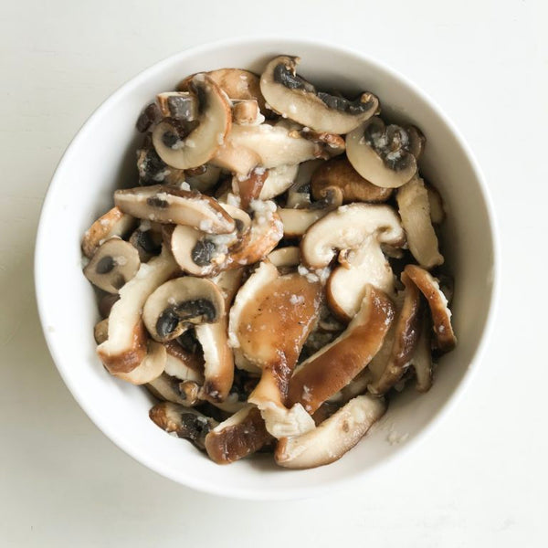 Salt Koji Marinated Mushrooms Japanese Food Recipe