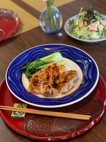 Teriyaki Ume Chicken using Yasashi-ume's Liquid Organic Ume Paste (March 2019 Nourishing Essentials Care Package)