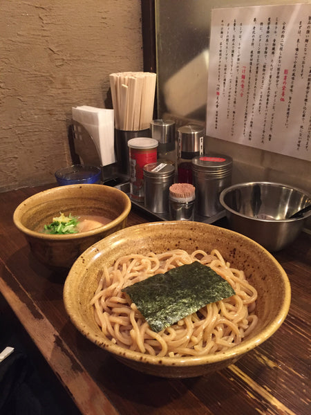 I love noodles, and this is so far one of my favorite bowls of noodles - tsukemen at Tsukemen Enji in Kichijoji.
