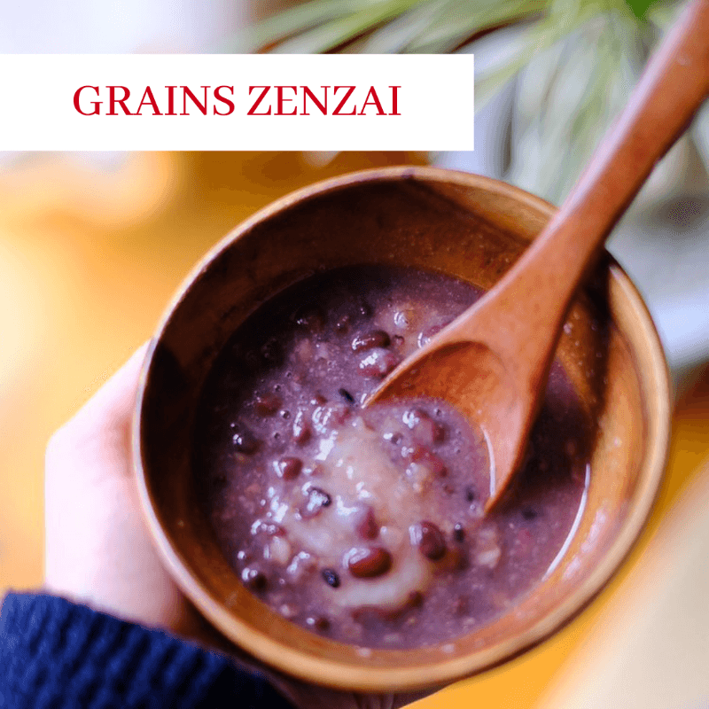 Grains Zenzai (Japanese Dessert Soup) from Kokoro Care Packages