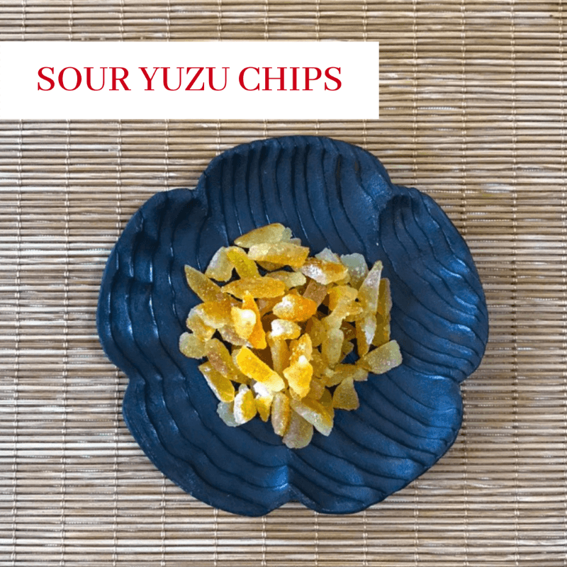 Sour Yuzu Chips from Kokoro Care Packages