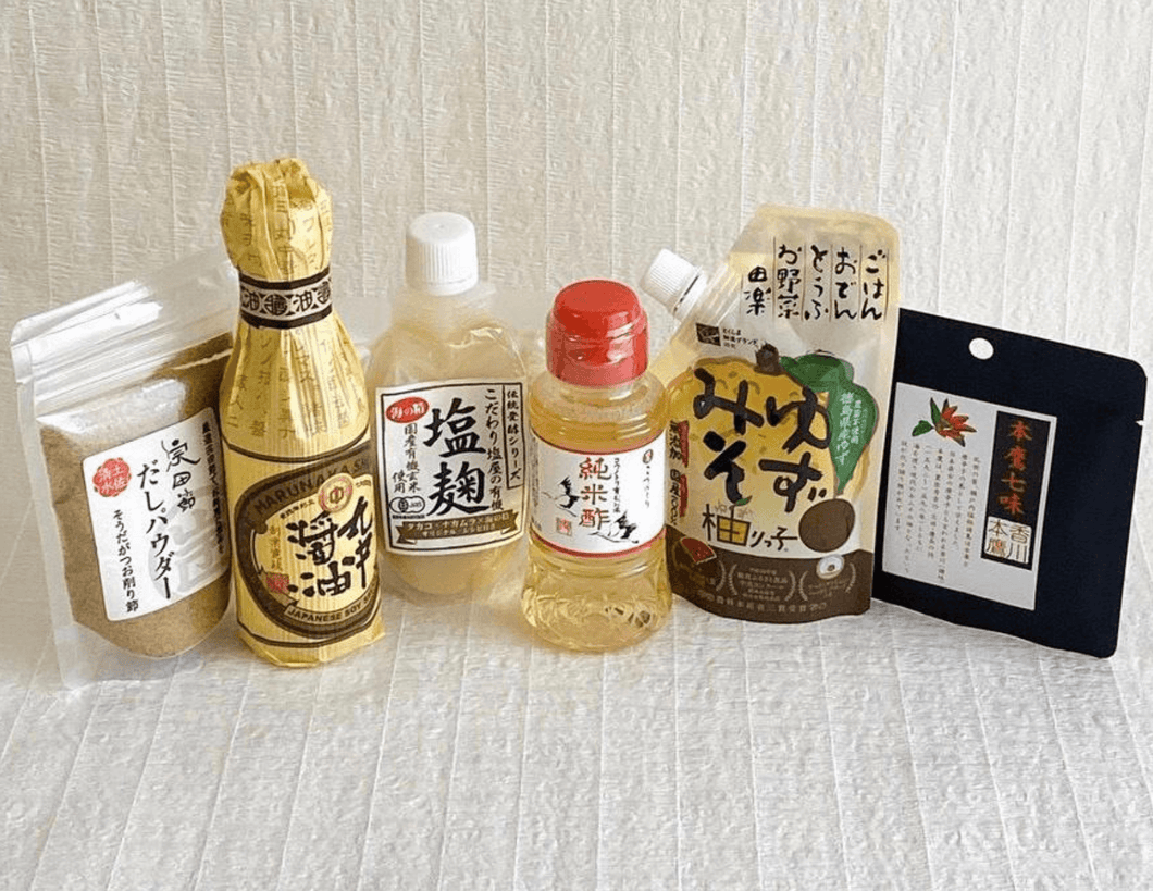 "CREATIVE BEGINNINGS: Redefining ""Wa"" Care Package (Japanese Cooking Essentials)"