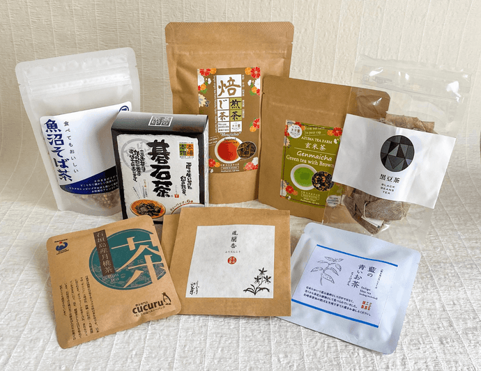 "JAPANESE GREEN AND SPECIALTY TEAS: ""Ryu"" Care Package"