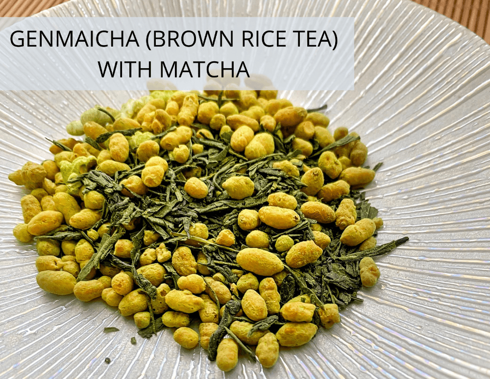 Genmaicha (Brown Rice Tea) with Matcha from Kokoro Care Packages