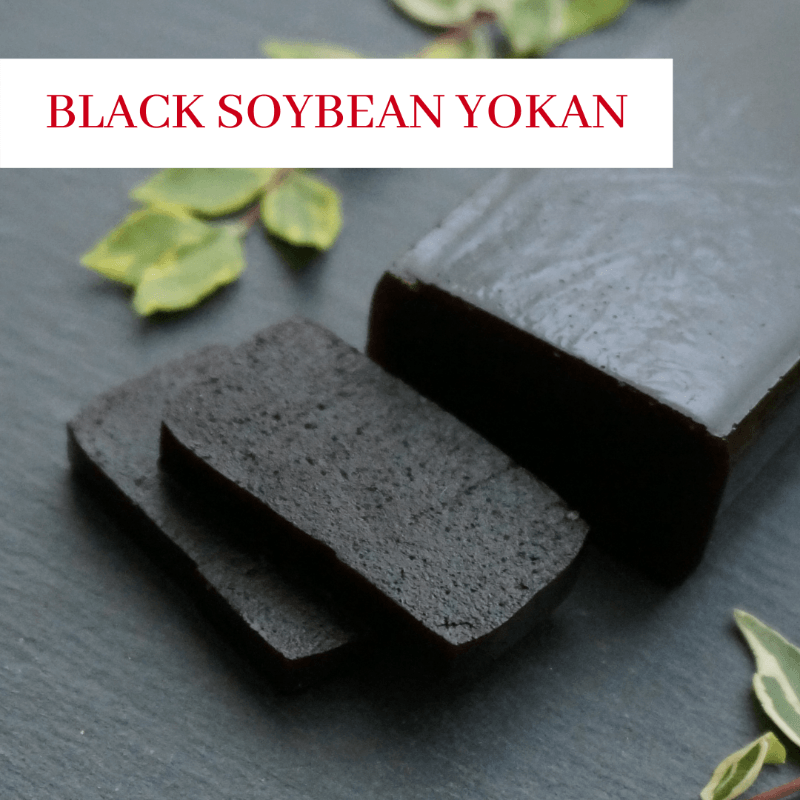Black Soybean Yokan (Japanese sweets) from Kokoro Care Packages