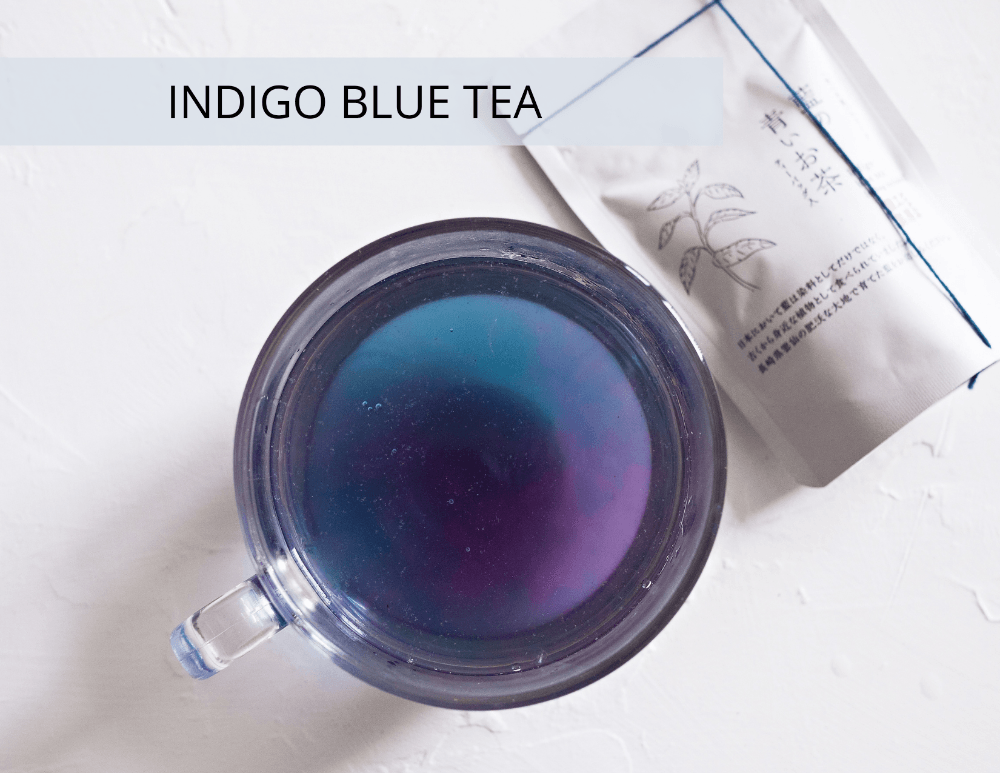 Indigo Blue Tea from Kokoro Care Packages
