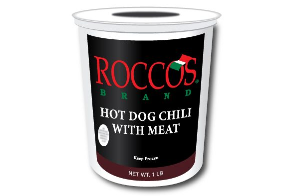 Rocco's Hot Dog Chili