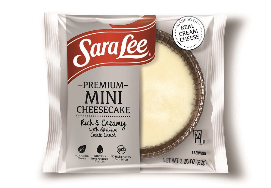 Individually Wrapped New York Style Mini Cheesecake Plain
