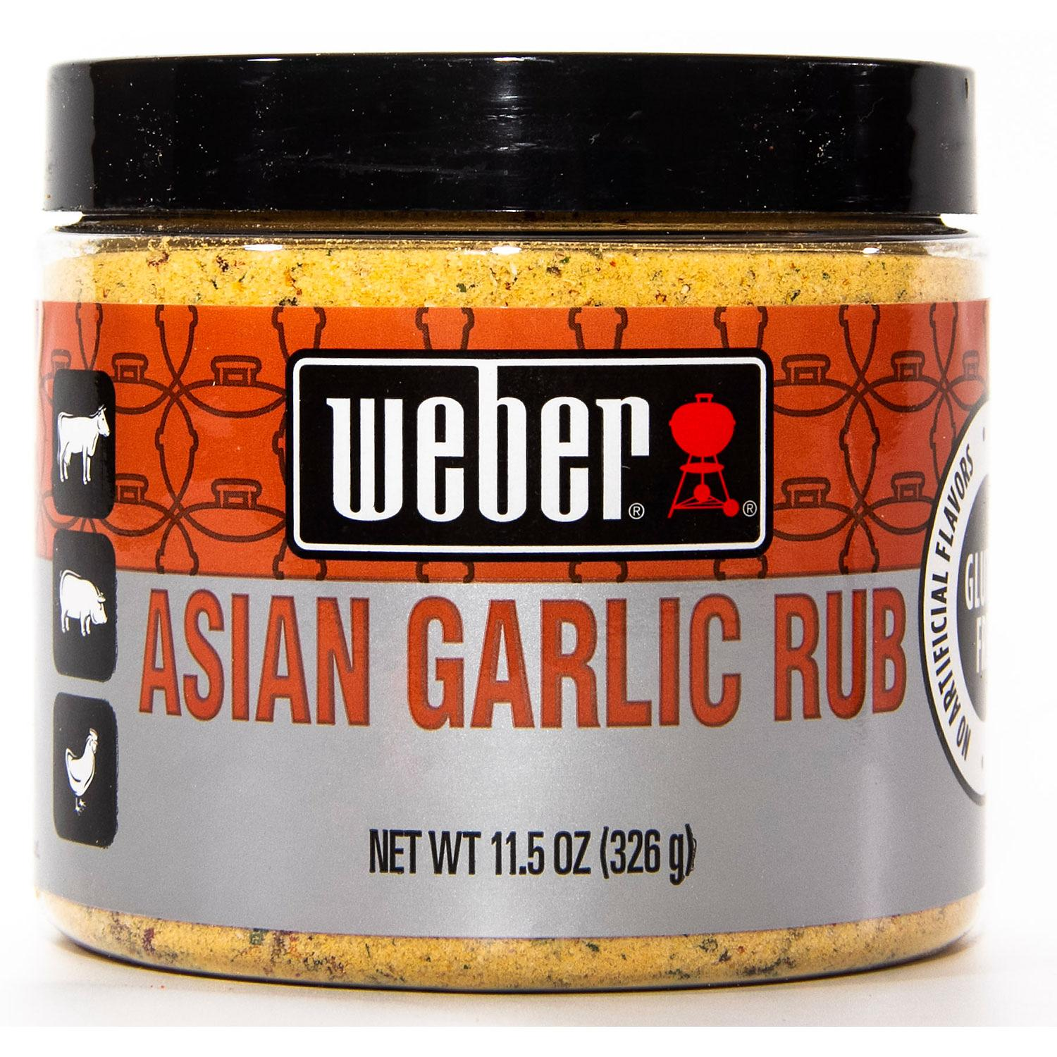 Weber Asian Garlic Rub 11.5oz
