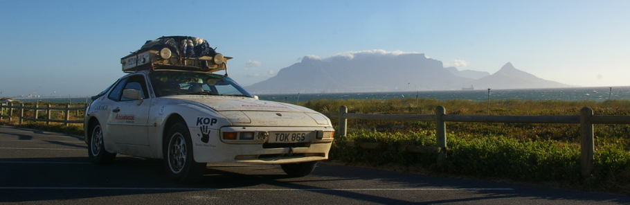 The Twelve Drives of Christmas - 05.  The AfricanPorsche Expedition.