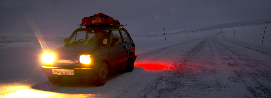 The Twelve Drives of Christmas - 02.  Fiat 126 vs The Arctic Winter.