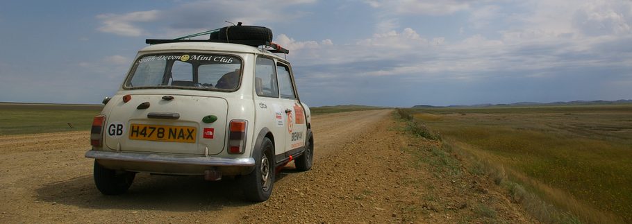 The Twelve Drives of Christmas - 01. Austin Mini to Mongolia