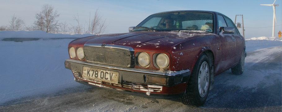 The Twelve Drives of Christmas - 07. A Jag on the Baltic Sea.