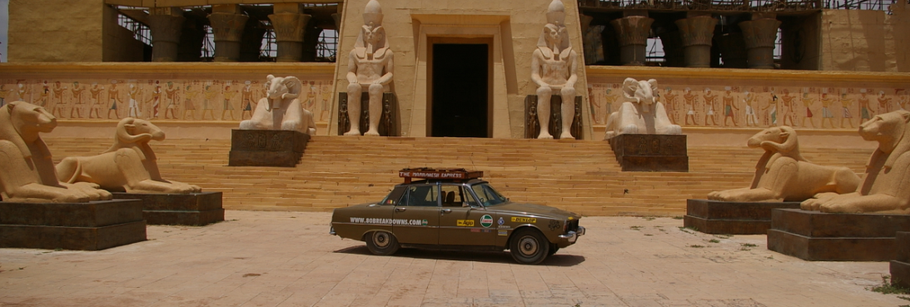 The Twelve Drives of Christmas - 08.  A Rover to the Sahara.