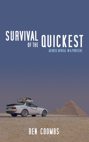 Survival of the Quickest - Paperback, signed copy