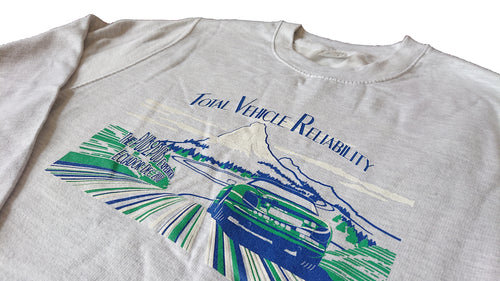 'Total Vehicle Reliability' Sweater