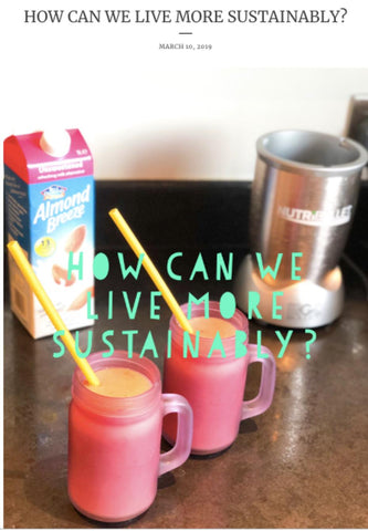 Blog gilian finn how to live more sustainably