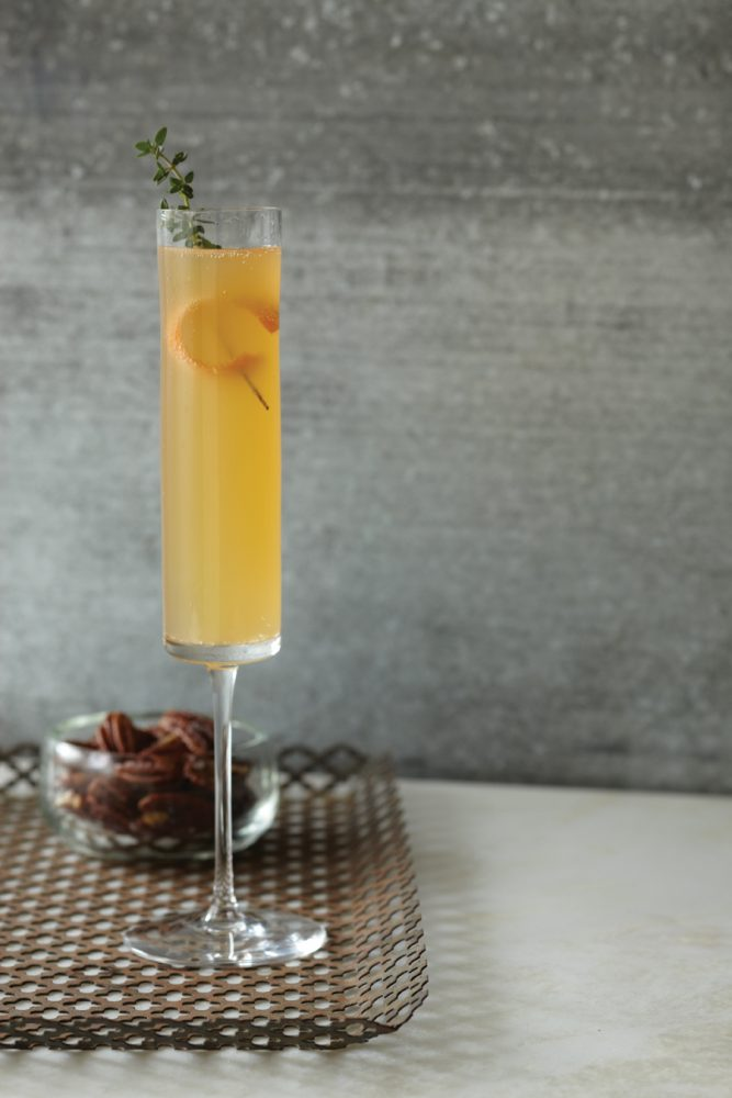 Image of Clementine Prosecco cocktail