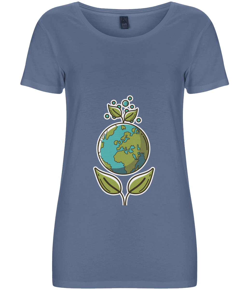 Ultimate Ethical Women's T-shirt - eco-wear-ltd